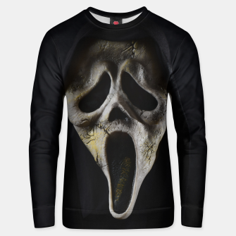 Thumbnail image of Scared Face Unisex sweater, Live Heroes