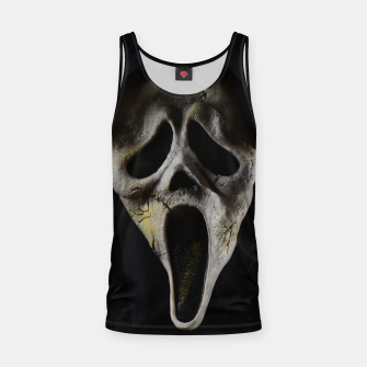 Thumbnail image of Scared Face Tank Top, Live Heroes