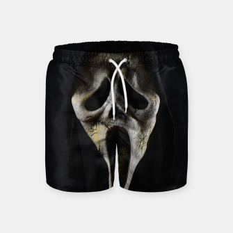 Thumbnail image of Scared Face Swim Shorts, Live Heroes