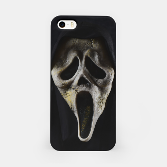 Thumbnail image of Scared Face iPhone Case, Live Heroes