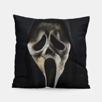 Thumbnail image of Scared Face Pillow, Live Heroes