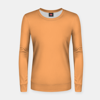 Thumbnail image of color sandy brown Women sweater, Live Heroes