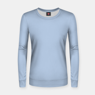 Thumbnail image of color light steel blue Women sweater, Live Heroes