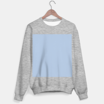 Thumbnail image of color light steel blue Sweater regular, Live Heroes
