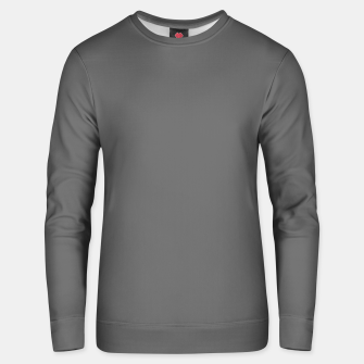 Thumbnail image of color dim grey Unisex sweater, Live Heroes