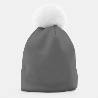 Thumbnail image of color dim grey Beanie, Live Heroes