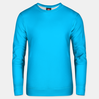 Thumbnail image of color deep sky blue Unisex sweater, Live Heroes