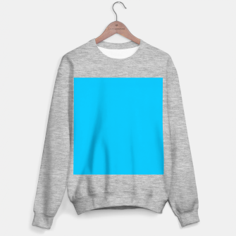 Thumbnail image of color deep sky blue Sweater regular, Live Heroes