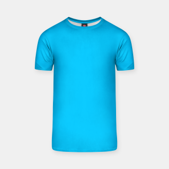 Thumbnail image of color deep sky blue T-shirt, Live Heroes