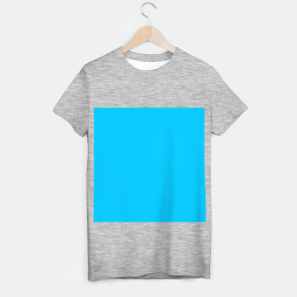 Thumbnail image of color deep sky blue T-shirt regular, Live Heroes