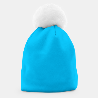 Thumbnail image of color deep sky blue Beanie, Live Heroes