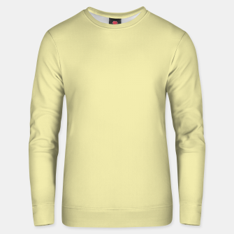 Miniatur color pale goldenrod Unisex sweater, Live Heroes