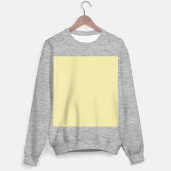 Miniatur color pale goldenrod Sweater regular, Live Heroes