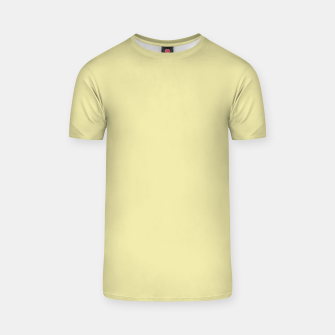 Miniatur color pale goldenrod T-shirt, Live Heroes