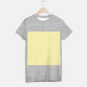 Miniatur color pale goldenrod T-shirt regular, Live Heroes