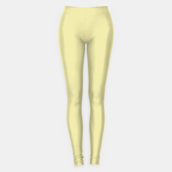 Miniatur color pale goldenrod Leggings, Live Heroes