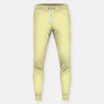 Miniatur color pale goldenrod Sweatpants, Live Heroes