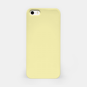 Miniatur color pale goldenrod iPhone Case, Live Heroes