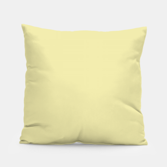 Miniatur color pale goldenrod Pillow, Live Heroes