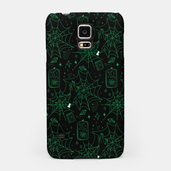 Thumbnail image of Gothic Halloween Witch Hand Green Samsung Case, Live Heroes