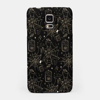 Thumbnail image of Gothic Halloween Witch Hand Gold Samsung Case, Live Heroes