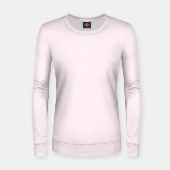 Thumbnail image of color lavender blush Women sweater, Live Heroes