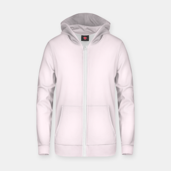 Thumbnail image of color lavender blush Zip up hoodie, Live Heroes