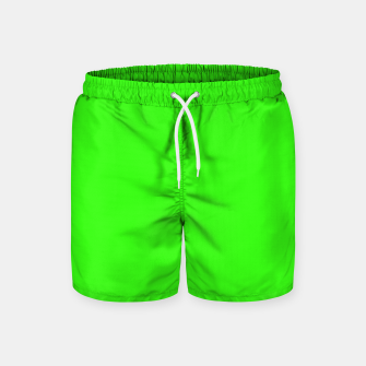 Thumbnail image of color neon green Swim Shorts, Live Heroes