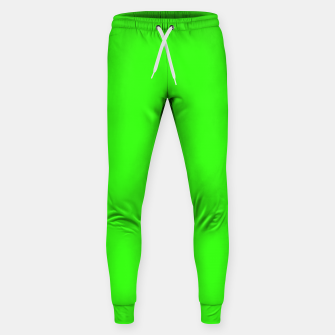 Thumbnail image of color neon green Sweatpants, Live Heroes