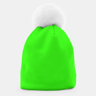 Thumbnail image of color neon green Beanie, Live Heroes