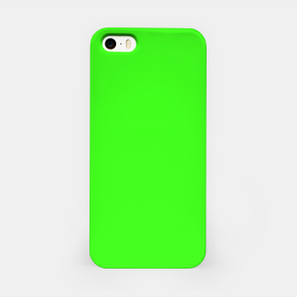 Thumbnail image of color neon green iPhone Case, Live Heroes