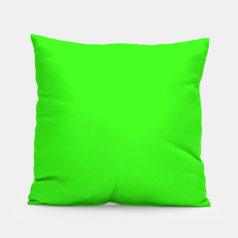 Thumbnail image of color neon green Pillow, Live Heroes