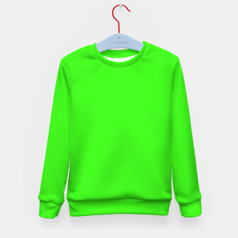 Thumbnail image of color neon green Kid's sweater, Live Heroes