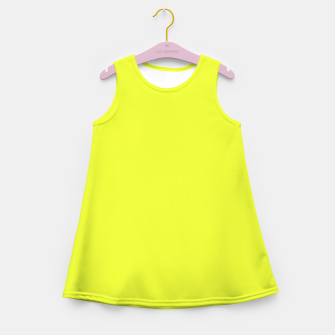 Thumbnail image of color luis lemon Girl's summer dress, Live Heroes