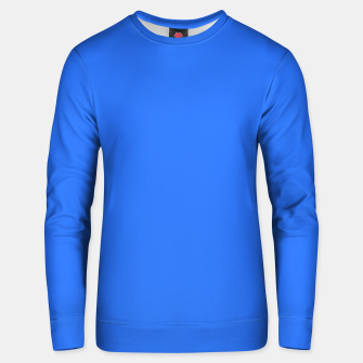 Thumbnail image of color deep electric blue Unisex sweater, Live Heroes