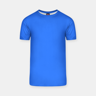 Thumbnail image of color deep electric blue T-shirt, Live Heroes