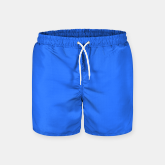 Thumbnail image of color deep electric blue Swim Shorts, Live Heroes