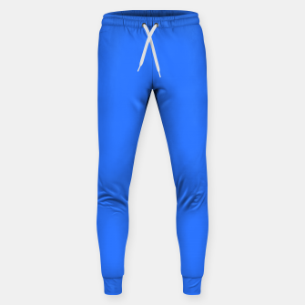 Thumbnail image of color deep electric blue Sweatpants, Live Heroes