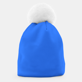 Thumbnail image of color deep electric blue Beanie, Live Heroes