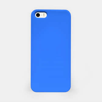 Thumbnail image of color deep electric blue iPhone Case, Live Heroes