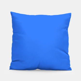 Thumbnail image of color deep electric blue Pillow, Live Heroes
