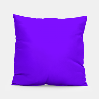 Thumbnail image of color electric indigo Pillow, Live Heroes