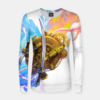 Thumbnail image of Chrono Trigger Women sweater, Live Heroes