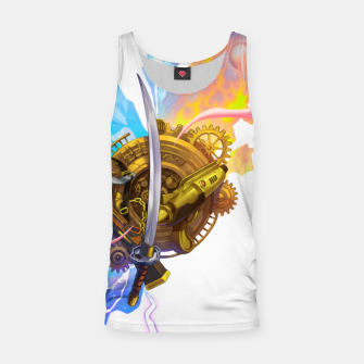 Thumbnail image of Chrono Trigger Tank Top, Live Heroes