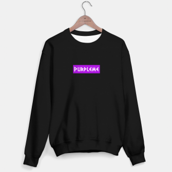 Imagen en miniatura de PURPLEME X OFFICIAL LOGO Sweater regular, Live Heroes