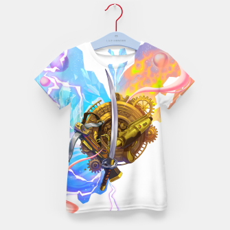 Thumbnail image of Chrono Trigger Kid's t-shirt, Live Heroes