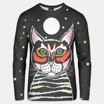 Thumbnail image of Moon Cat Unisex sweater, Live Heroes