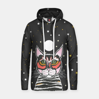 Thumbnail image of Moon Cat Hoodie, Live Heroes