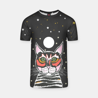 Thumbnail image of Moon Cat T-shirt, Live Heroes