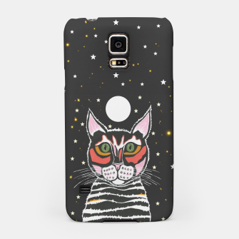 Thumbnail image of Moon Cat Samsung Case, Live Heroes